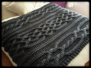 cable knit blanket Ravelry: Olivia Cable Knit Blanket pattern by Allison Huddleston cable knit blanket