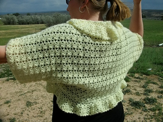 Ravelry Clusters And Vs Plus Size Crochet Shrug Pattern By Copper