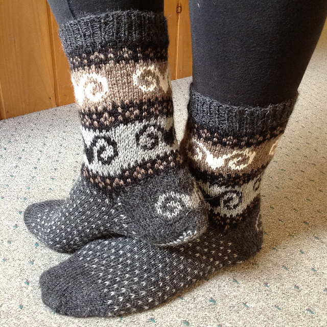 Countrywool Icelandic Sheep Socks