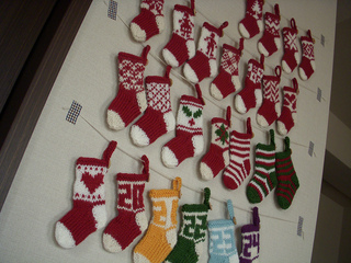 cozysunnyday - Small Christmas Stocking Decorations