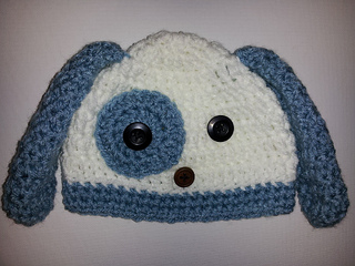 Ravelry  Easy Puppy Dog Hat pattern by Michele Gaylor 4bd2d1ad72f