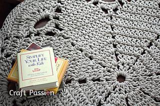 Ravelry Giant Doily Rug Pattern By Joanne Loh