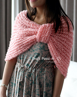 Free Knitting Patterns For Shoulder Cowls : Ravelry: Shoulder Cowl Scarf pattern by Joanne Loh