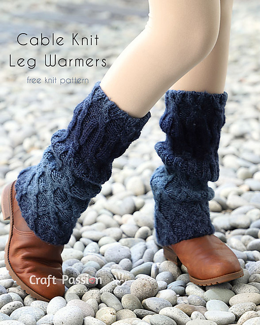 Ravelry Cable Knit Ombre Leg Warmers Pattern By Joanne Loh