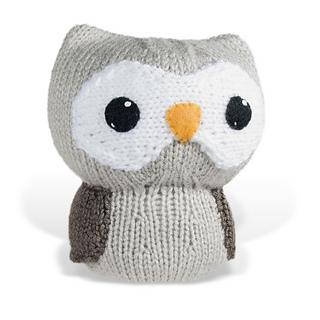 Ravelry: Large Knit Amigurumi Owl pattern by Lisa Eberhart