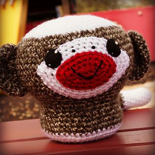 Ravelry: Crochet Sock Monkey, 8 inch pattern by Lisa Eberhart
