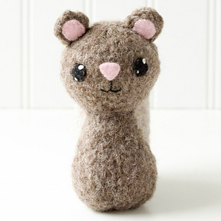 Felted Amigurumi Tutorial : Ravelry: Backyard Critters 1 Felted Knit Amigurumi: Beaver ...