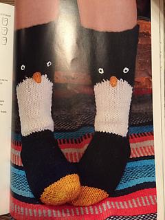 Ravelry Penguin Socks Pattern By Fiona Goble