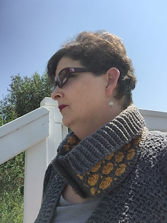 Ravelry: Cobblestone Collared Cowl pattern by Shelley Moore