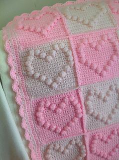Ravelry Bobble Heart Pattern By Leonie Morgan