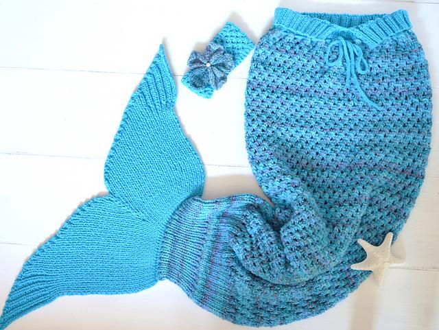 Adult Mermaid Tail Blanket Pattern By Caroline Brooke