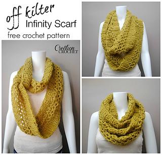 Ravelry Off Kilter Infinity Scarf Pattern By Lorene Haythorn