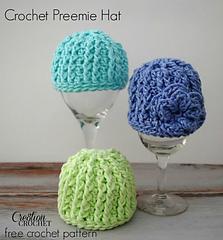 Crochet Pattern Hat Sizes : Ravelry: Crochet Preemie Hat pattern by Lorene Haythorn ...