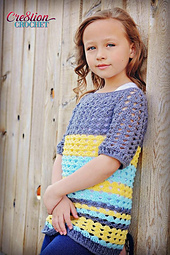 Ribbed_shell_tee_pattern_child_pattern_sizes_2_thru_12_free_small_best_fit