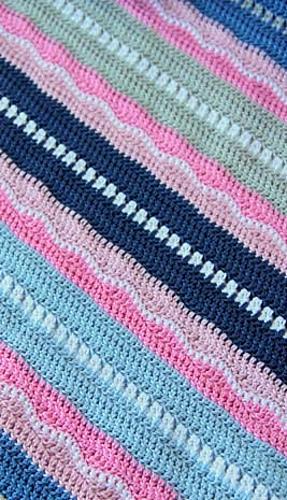 Ravelry Miami Beach Girl Baby Blanket Pattern By Maaike Van Koert