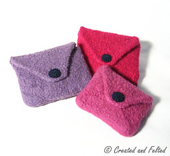 Ravelry Felt Purses Pattern By Claire Fairall Designs