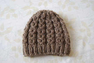 Ravelry  Malibu Bulky Mock Cable Hat pattern by Kate Wise bb70cb7550c