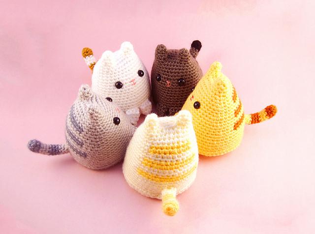 Ravelry Dumpling Kitty Pattern By Sarah Sloyer