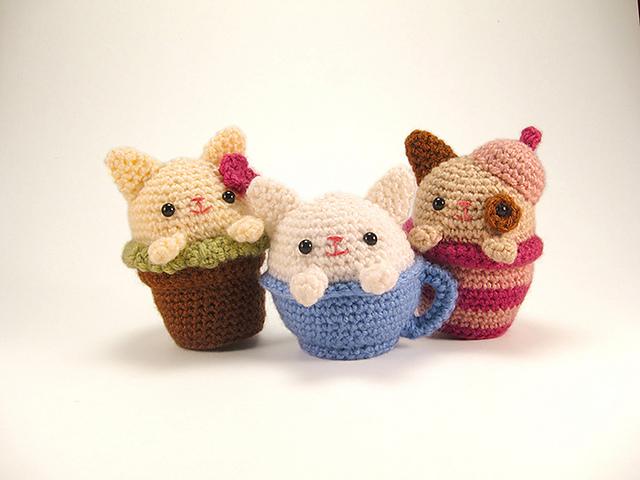 Ravelry Cozy Cat Trio Pattern By Sarah Sloyer Interesting Cat Crochet Pattern
