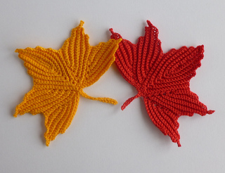 Ravelry: Maple leaf motifs. Irish crochet pattern by ...