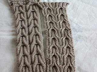 8559acaed067d6 Ravelry  Wishbone Loophole Scarf pattern by Mareike Meyer