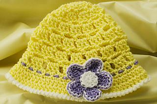 Ravelry  Baby Sun Hat pattern by Susan Lowman 45b15aa83f8