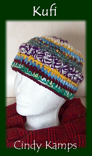 Ravelry Kufi Hat Pattern By Cindy Kamps