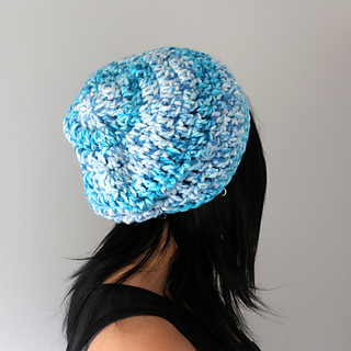 Ravelry: Chunky Weekender Slouchy Hipster Hat pattern by ...