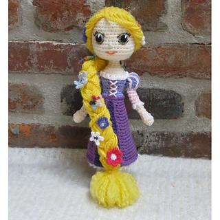Ravelry: Amigurumi Doll Rapunzel pattern by Crochet Cute ...