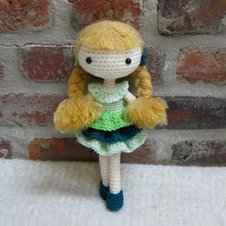Ravelry Amigurumi Doll Pia Pattern By Crochet Cute Dolls