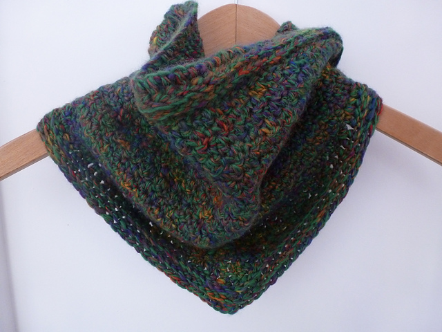 Ravelry Crochet Bandana Cowl Pattern By Mary Thomson