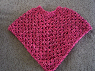 Ravelry Baby Poncho L0078 Pattern By Lion Brand Yarn