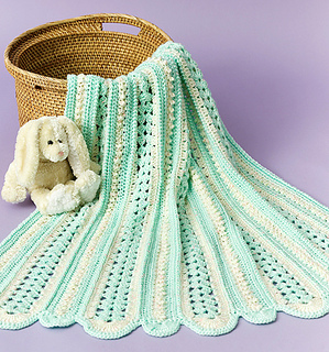 62d7b38be Ravelry  Soft Shells Baby Blanket (archived) pattern by Marilyn Losee