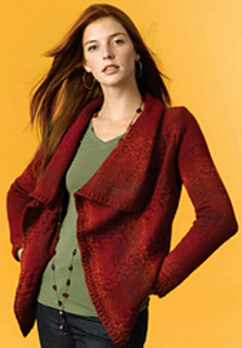 127bd4bae4a2 Ravelry  Draped Sweater (Hand Knit) pattern by Kathy Perry