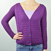 Crochet_v_neck_cardigan_sweater_small_best_fit