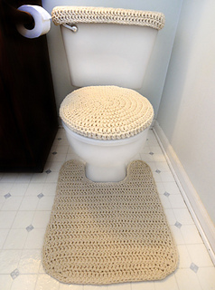 Ravelry: Toilet Cover Set And Contour Rug Pattern By Rachel Choi