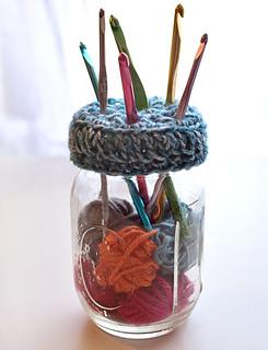Ravelry Mason Jar Crochet Hook Holder Pattern By Rachel Choi