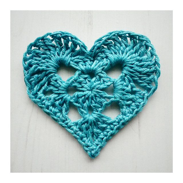 Ravelry Granny Heart Pattern By Crochet Tea Party