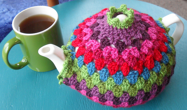 Ravelry Granny Tea Cozy Pattern By Crochet With Raymond