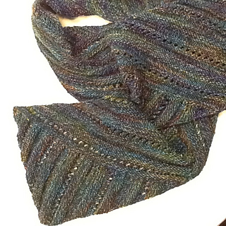 Ravelry Multidirectional Diagonal Scarf Pattern By Karen
