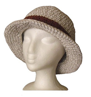 a2b0b1d4446 Ravelry  Bucket hat - with a straight brim pattern by Christina Williams