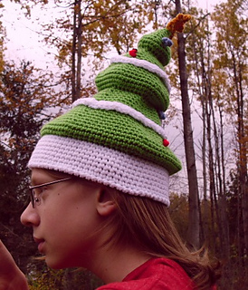 56bf32cee2c Ravelry  A Rather Festive Tree (hat) pattern by Christina Williams