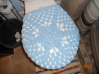 Ravelry Shell Toilet Seat Cover Pattern By Rhelena S