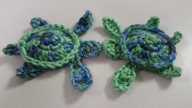 Ravelry sea turtle applique pattern by kristin jacobs dt1010fo