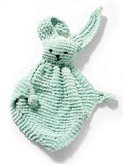 Ravelry: Bunny Blanket Buddy (Knit) #50722 pattern by Lion ...