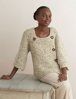 Ravelry Extra Easy Extra Fabulous Sweater Pattern By Lion Brand Yarn