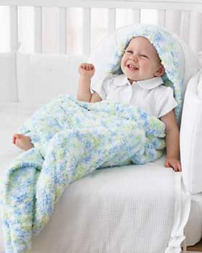 Ravelry Blanket With Hood Pattern By Bernat Design Studio