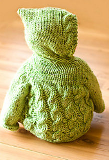 9b27b07d147c Ravelry  Fish Creek Hooded Baby Sweater pattern by Melissa Schaschwary