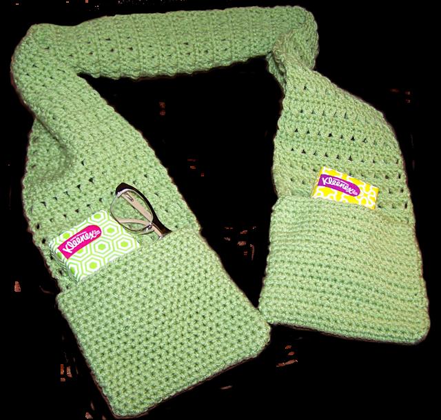 Ravelry X Stitch Scarf With Pockets Pattern By Danielle Bonacquisti