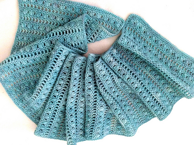 Ravelry Dreaming About Winter Scarf Pattern By Daria Nassiboulina